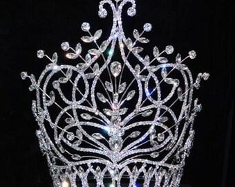 "Style # 15893 - Large Mediterranean Spray Adjustable Crown - 10"""