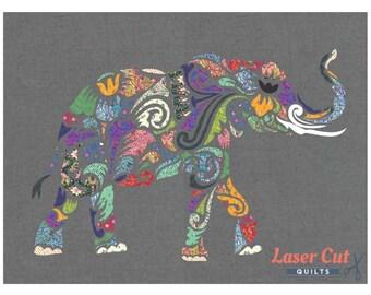 """Holi Ganesha Quilt Kit featuring Tula Pink Fabrics 40"""" x 30"""""""