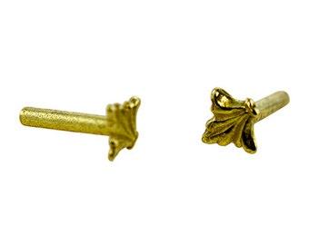 Brass Rivet FLEUR DE LIS (Pkg of 10)(ccbr1205)