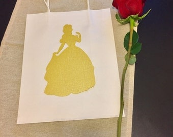 Beauty and the Beast Princess Party Goodie Bags