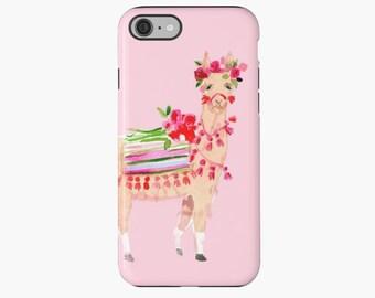 Llama Love iPhone Case