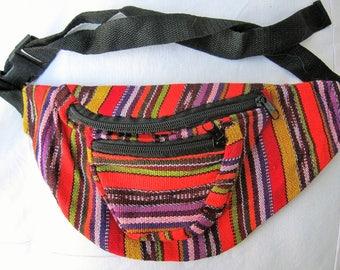 Guatemalan Adjustable Fabric Fanny Pack