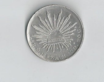 1897MoAM 8 Reales Mexico