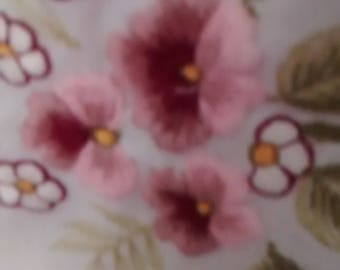 Beautifully  embroidered tablecloth and