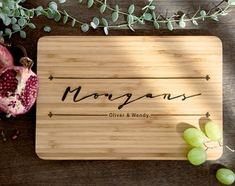 Personalized Cutting Board Personalized Custom Cutting Board Wedding Gift Cutting Board Engraved Cutting Board Anniversary Cutting Board #20
