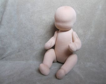 "Waldorf doll 15"" (39 cm), blank, without hair and clothing. Button jointed, turnable limbs.  waldorf doll 16"" (39 cm). Ready to ship. (AK04)"