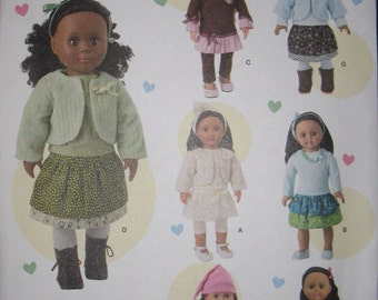 """18"""" doll clothes pattern, simplicity 1515"""