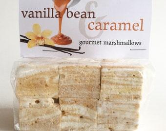Fresh Gourmet Artisan Vanilla Bean & Caramel Marshmallows **Gluten Free**
