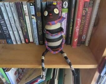 Shelf Monster: Stripy