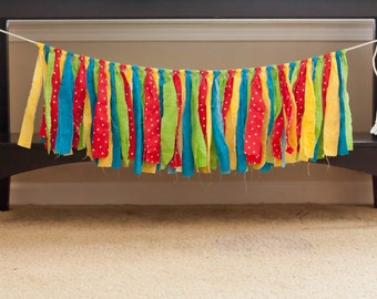 The Very Hungry Caterpillar Birthday - The Very Hungry Caterpillar Fabric Banner - 1st Birthday Photo Prop - Mini Session Prop - Photo Prop