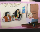 I Got You Babe soft enamel pins two-pack PRE-ORDER!!