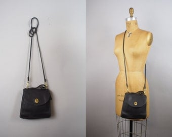 Coach Regina Purse | Vintage Coach bag | Black Leather Crossbody Purse