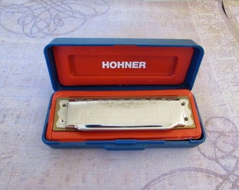 Vintage M. Hohner Blues Harp in E Made in Germany