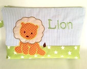 Diaper bag lion named desire