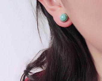 Turquoise Stud Earrings Turquoise Jewellery