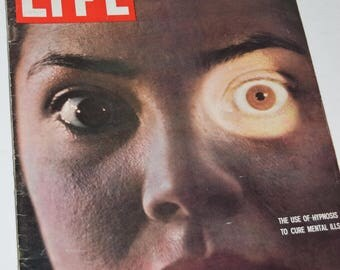 """Vintage March 7, 1960 """"Life"""" Magazine - Use of Hypnosis Cover"""
