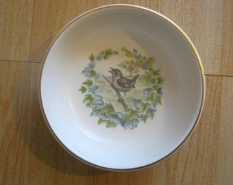 Poole Pottery Trinket Bowl/Dish with bird pictured