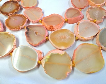 Beautiful Natural Peach Slice Agate!!!!