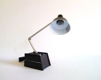 Vintage Black Mobilite Adjustable Lamp