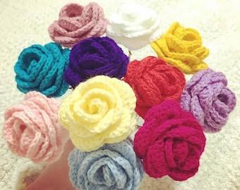 Roses Crochet Acrylic Yarn