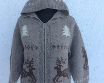 Sale Knitted Women's Sweater With Zipper