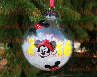 Personalized 2016 Christmas Ornament/Mickey Mouse/2016/Christmas Gift
