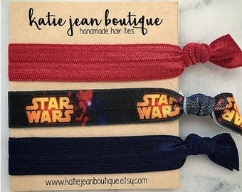 "Elastic Hair Ties - The ""Rey"" Collection"