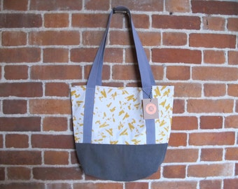 REDUCED TO CLEAR: Hand made Tote bag