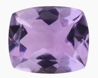 Pink Amethyst Cushion Cut Loose Gemstone 1A Quality 12x10mm TGW 4.40 cts.