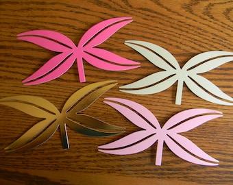 DIY - Set of 4 Anna Griffin Die Cut Bows (173)
