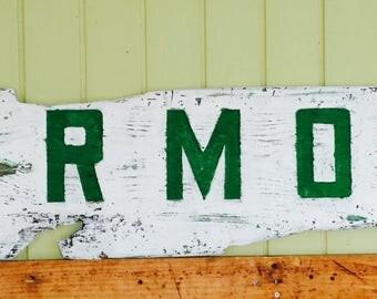 Custom Made Reclaimed Wood Signs