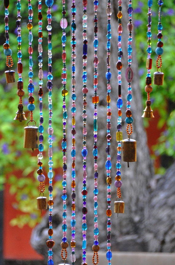 Beaded Curtain Glass Beaded Suncatcher Window Curtain Beaded