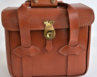Vintage Leather Camera Case / Bag