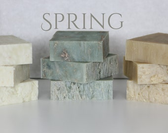 Seasonal Soap Club, Quarterly Homemade Soap Club, Four Seasons Soap Club, Guest Soaps, All Natural Soap
