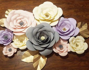 Custom Paper Flowers- Package 2