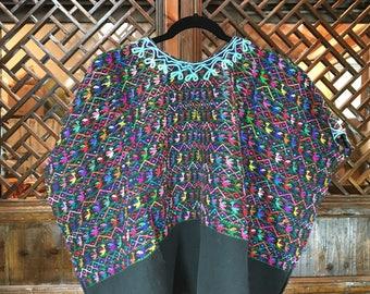 Guatemala woman's hand woven huipil (blouse)
