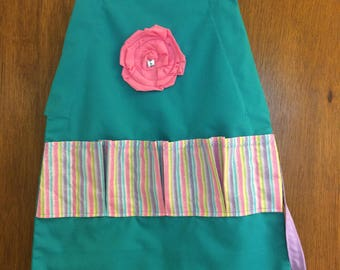 Child's Egg gathering apron