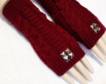 Fine Yarn Fingerless Gloves Available One Good Quality