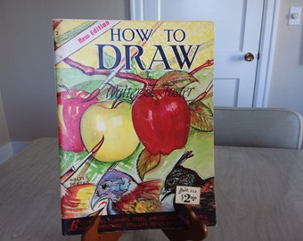 "Vintage Walter Foster ""How To Draw"" Art Instructions How to Book"