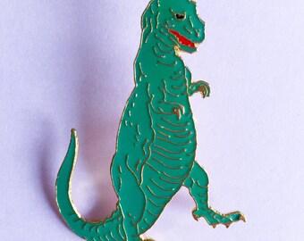 Vintage Tyrannosaurus Rex Enamel Pin