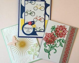 Set of 8 Custom Greeting Cards- Free Shipping!