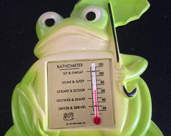 1972 Miller Studio Frog Bathometer