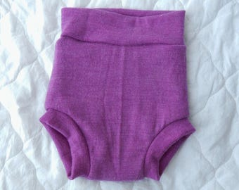 Bold Lilac Knickerwoolies - MEDIUM/TALL