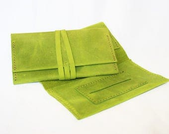 Leather rolling tobacco pouch // tobacco case // tobacco wallet // tobacco purse // NEW COLORS!