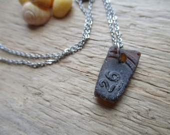 Sea Glass Necklace #26