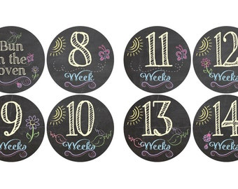 Pregnancy Maternity Baby Bump Belly - Baby Shower Gift - New Mom Gift - Expecting mothers weeks 8-42
