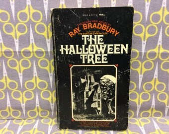 The Halloween Tree by Ray Bradbury Paperback Book Classic Science Fiction Vintage