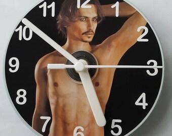 Johnny Depp CD Wall Clock