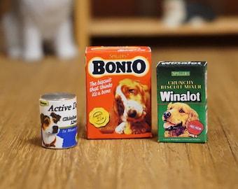 Dolls House Miniature Dog Food