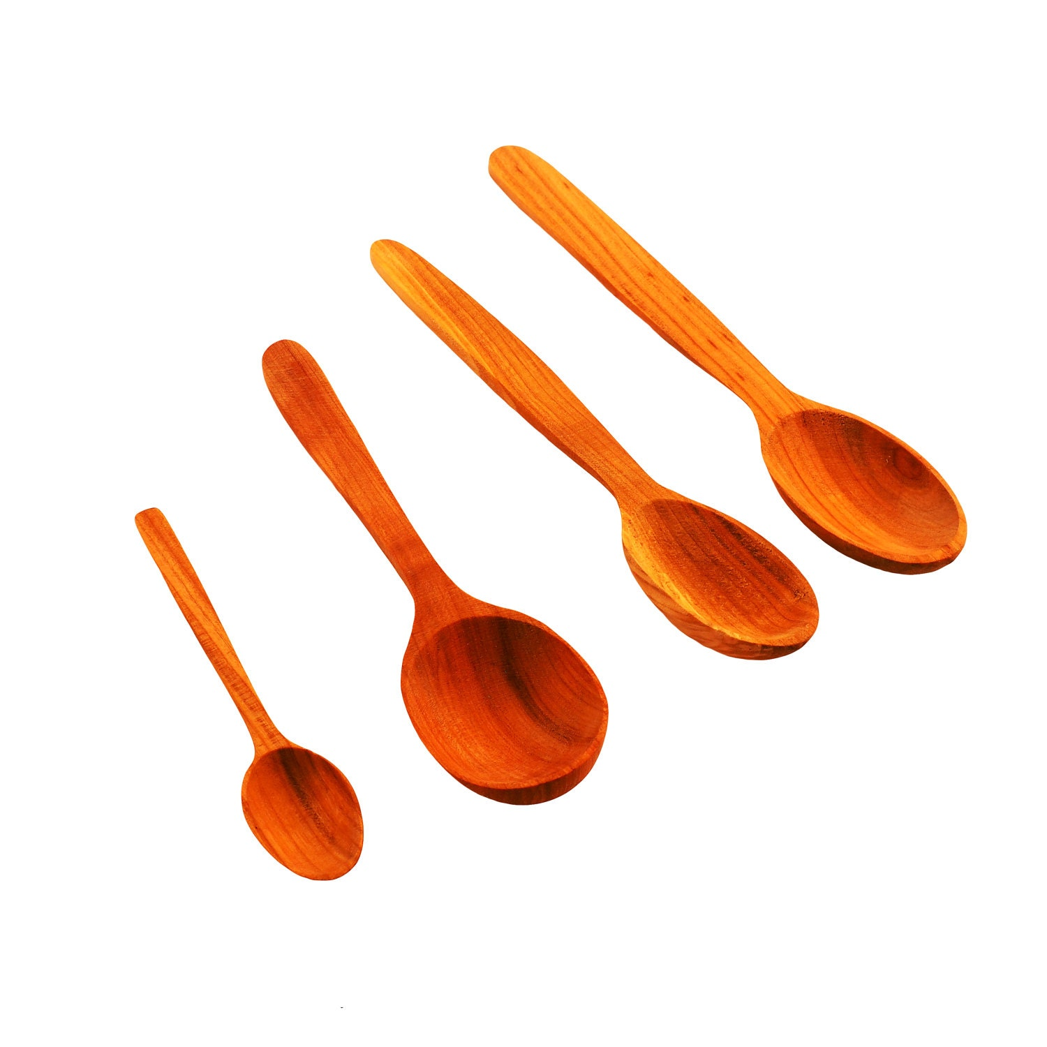 Medieval wooden spoon cherry table spoon medieval for Table utensils